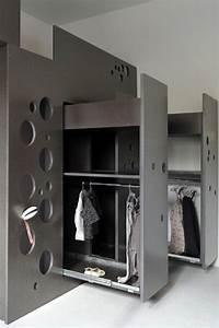 Rangement Pour Chambre : mobilier gain de place chambre id e ~ Premium-room.com Idées de Décoration