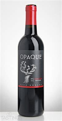 opaque  darkness red blend paso robles usa wine review
