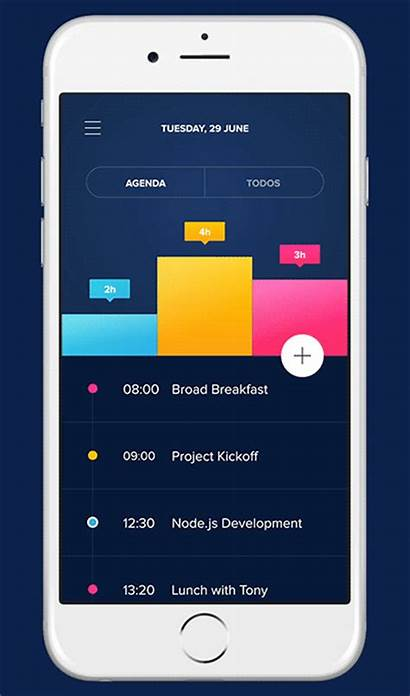Agenda App Behance Daily Ui Ux