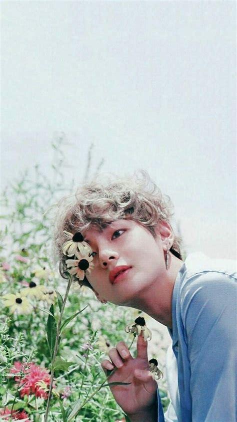 bts  kim taehyung meu anjinho  gambar