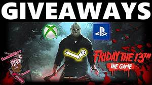 Friday The 13th Game Giveaways Games Savini Jasons