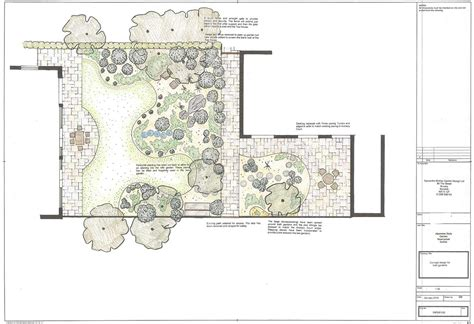Japanischer Garten Planen by Simplified Japanese Garden Plans Hillside Landscaping