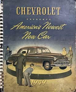 1949 Chevrolet Car Reprint Owner U0026 39 S Manual 49 Chevy