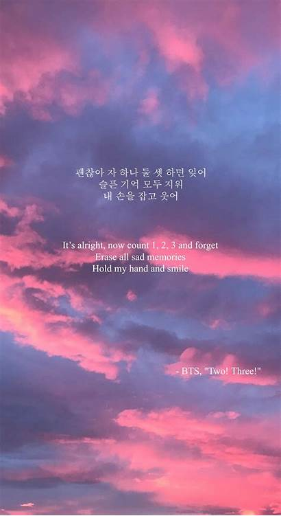 Lyrics Bts Song Quotes Wallpapers Sad Aesthetic