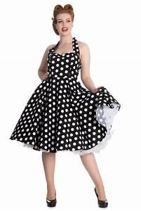 50er Jahre Accessoires : mariam 50er jahre retro polka dots swing petticoat kleid von hell bunny frauen kleider ~ Sanjose-hotels-ca.com Haus und Dekorationen