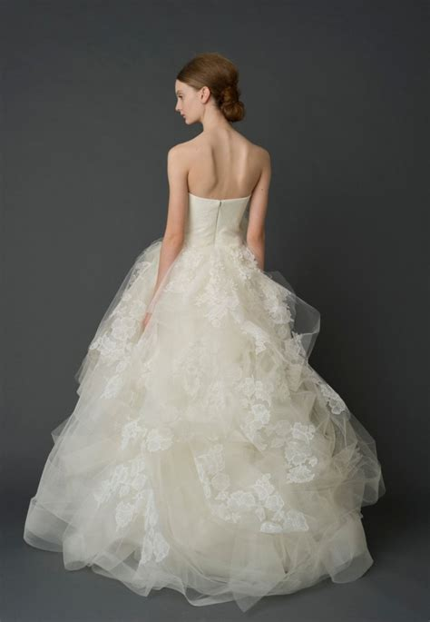 exquisite vera wang wedding dresses modwedding