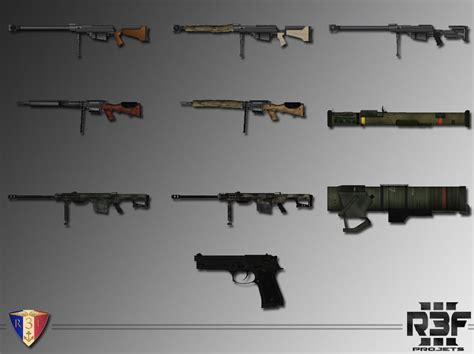 rf french weapons pack weapons armaholic