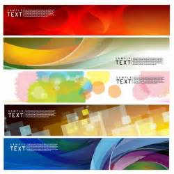 design banner vector horizontal banner free vector graphics all free web resources for designer web