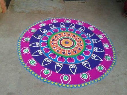 pin  shreya shekar  randoms colorful rangoli designs