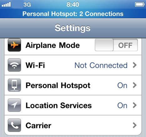 t mobile hotspot iphone confirmed at t to enable mobile hotspot for iphone