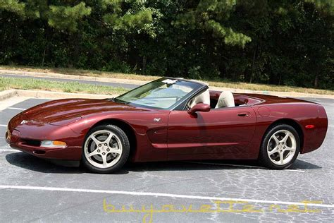 50th Anniversary Corvette by 2003 Corvette 50th Anniversary Convertible For Sale