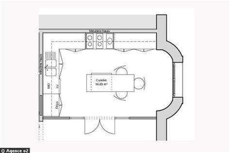 cuisine 12m2 ilot central cuisine 12m2 avec ilot central cuisine en image