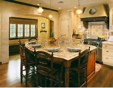 Oversize Kitchen Island For Family Style Dining Space Kitchen And Country Kitchen Designs Kitchen Picture Big Kitchen Island Just In Time For Thanksgiving Oversized Islands Cindy O 39 Gorman Large Kitchen Island Design Large Kitchen Island With Seating Pictures