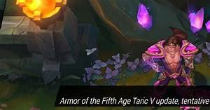 Surrender at 20: 4/6 PBE Update: Armor of the Fifth Age ...