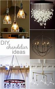 So we acquired a table and now i want diy chandelier