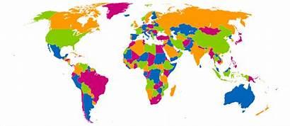 Map Four Colours Wikimedia Colour Colors Svg