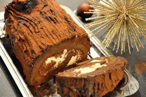 hervé cuisine buche de noel bûche de noël marrons chocolat praliné hervecuisine com