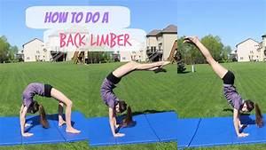 How To Do A Back Limber