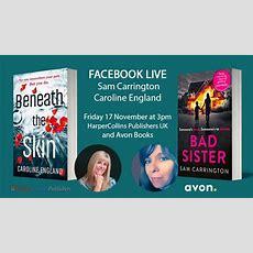 Sam Carrington Facebook Live Author Chat