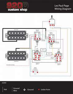 920d Custom Shop Les Paul Jimmy Page Wiring Harness