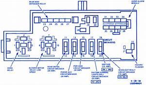 Lumina Van Drl 2002 Fuse Box  Block Circuit Breaker Diagram  U00bb Carfusebox
