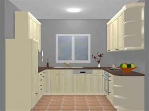 exemple de cuisine en u With exemple de cuisine en l
