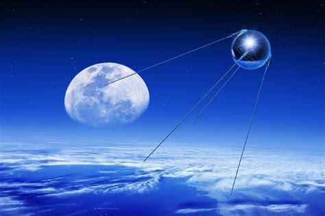 Sputnik 1 Satellite, Composite Image Photographic Print by Detlev Van Ravenswaay at AllPosters.com