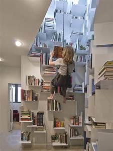 Cool, Bookshelves, 40, Unique, Bookshelf, Design, Ideas