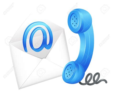 phone  email clipart   cliparts  images