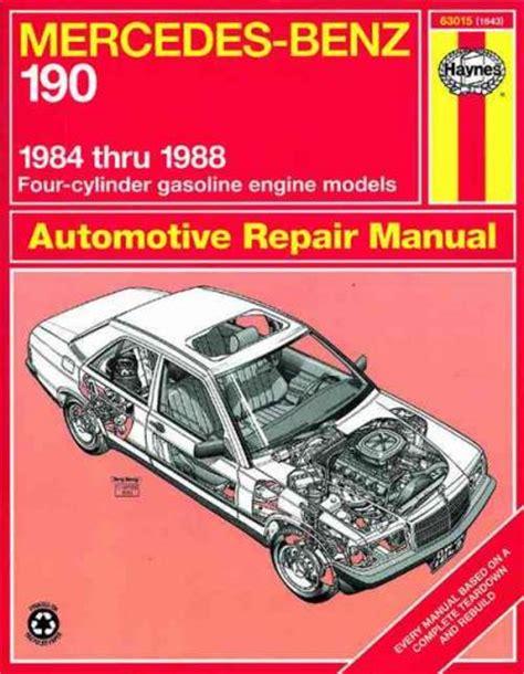 online auto repair manual 1987 mercedes benz w201 electronic valve timing mercedes benz 190 1984 1988 haynes service repair manual sagin workshop car manuals repair