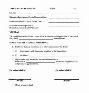 commission contract template 11 download free documents With sales commission contract template free