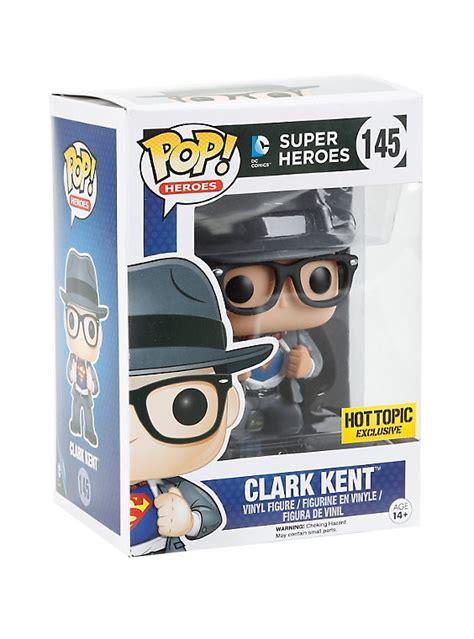 funko dc pop heroes clark kent vinyl figure topic exclusive