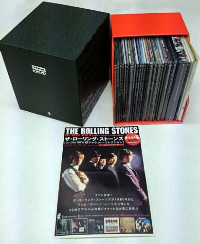 rolling stones    paper sleeve collection hot