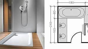 Plan Salle De Bain 7m2 : exceptionnel plan salle de bain galerie et plan salle de bain 7m2 photo alfarami ~ Dode.kayakingforconservation.com Idées de Décoration