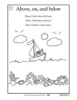 Free printable 1st grade Worksheets, word lists and
