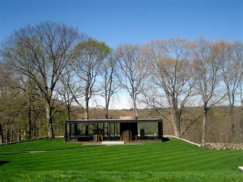 Glass House Johnson by Gallery Of Ad Classics The Glass House Philip Johnson 1