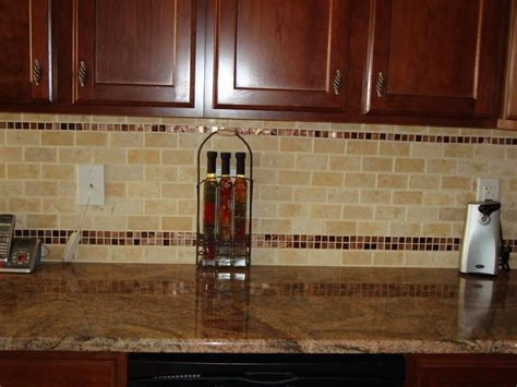 Limestone Backsplash Kitchen by Subway Glass Tile Backsplash Design Limestone Subway