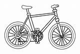 Bicycle Coloring Bike Pages Drawing Bmx Printable Cartoon Biycle Mountain Colouring Bikes Sheets Clipart Daniel Draw Boys Books Wecoloringpage Cycling sketch template