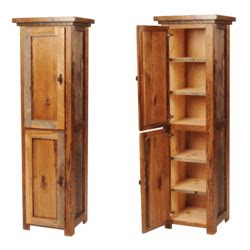 wyoming reclaimed wood linen closet
