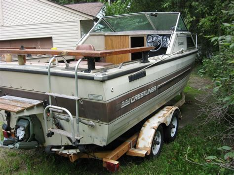 Crestliner Boats In Ohio by 1987 Crestliner Nordic Project Boat Ohio Fishing