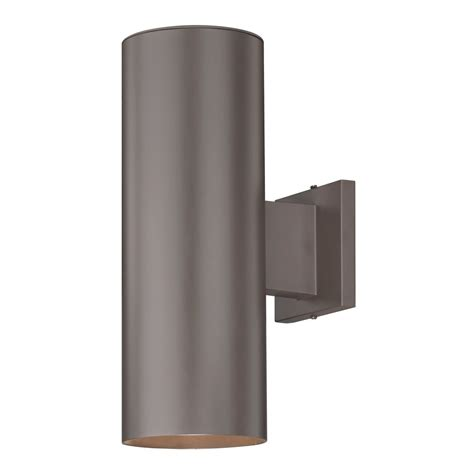 up and down wall lights up down bronze cylinder outdoor wall light 5052 pcb