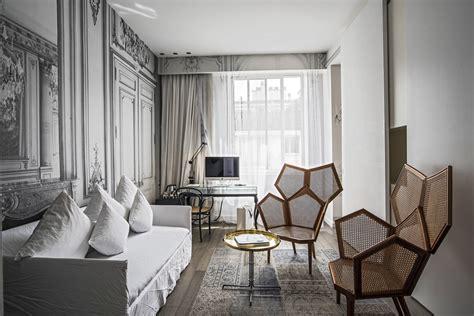 la maison champs elysees paris hotel designed