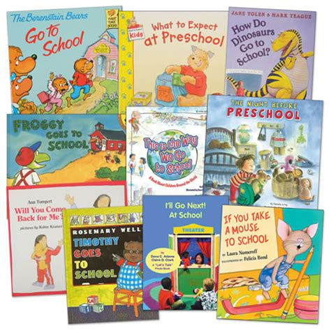 all about preschoolers book sets set of 10 books each set 189 | 16148rev