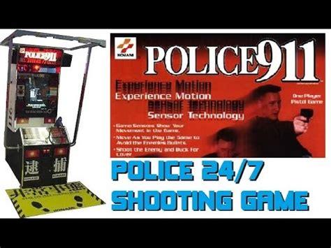 police  arcade shooter konami  gun game