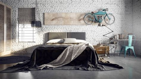 20 Cool Industrial Style Bedroom Design Ideas Youtube
