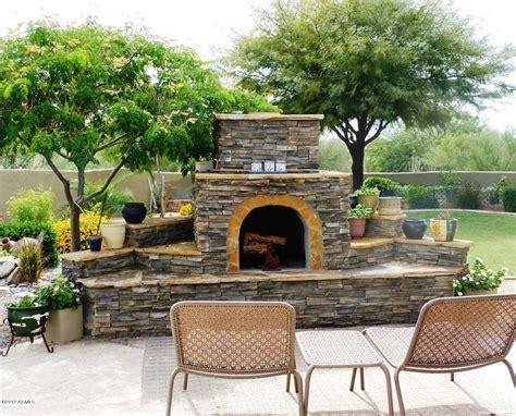 Fireplace For Patio Backyardexterior Pinterest
