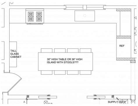 simple kitchen floor plans simple kitchen floor plan house floor plans 5236
