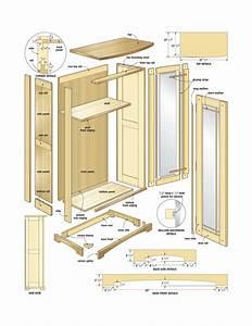 elegant media cabinet woodworking plans - WoodShop Plans