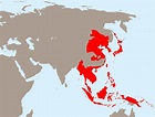 Empire of Japan at its greatest extent (1942) [2000x1522 ...