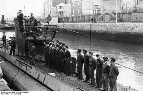German U Boat Attacks Newfoundland by U Boats German Submarine U 455 About To Be Received At